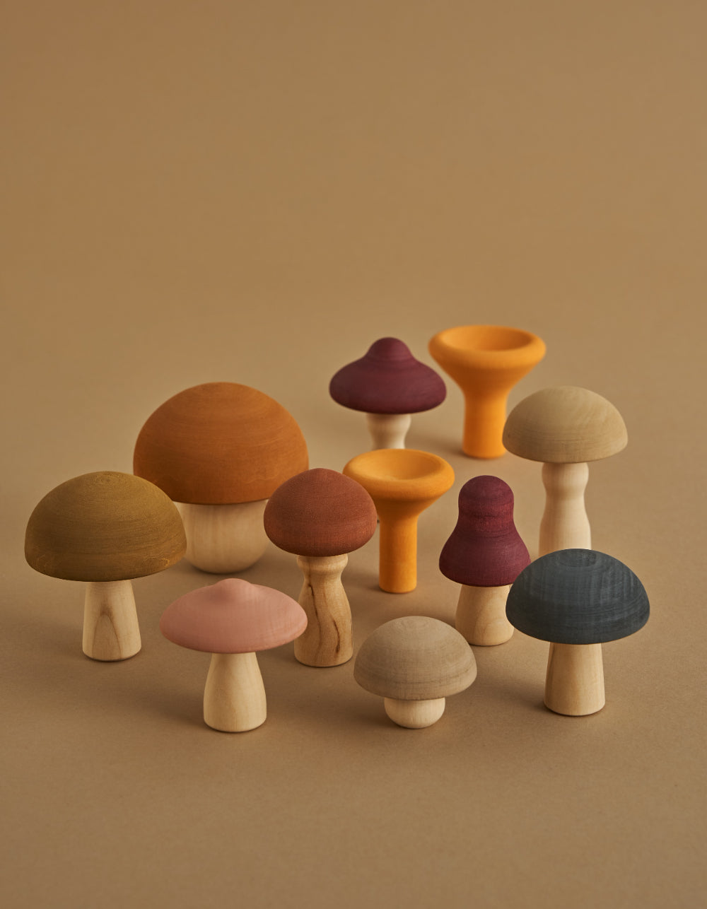 raduga grez wooden toys mushrooms
