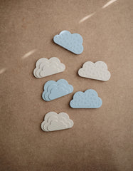 mushie silicone teether cloud