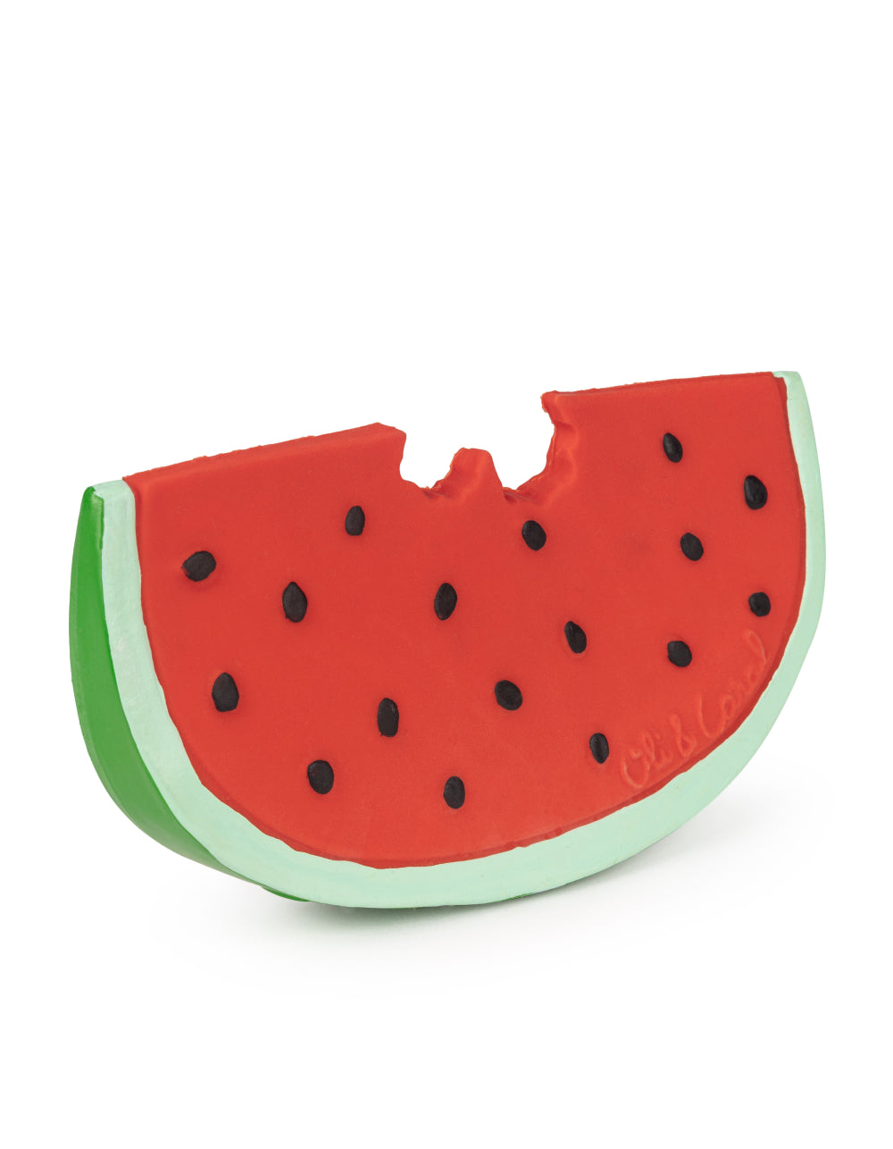 oli&carol natural rubber toy Wally The Watermelon