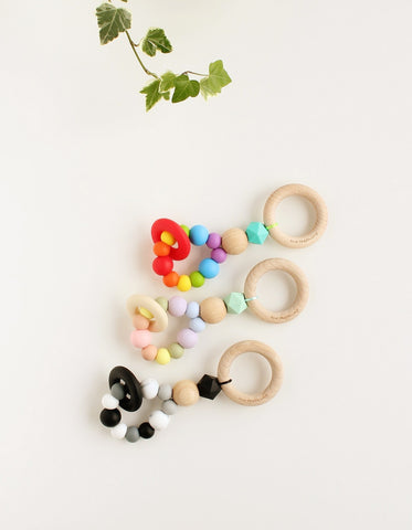 Montessori teething toy