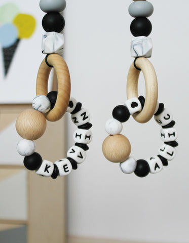 personalized baby gym toys