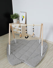 personalized baby gym set