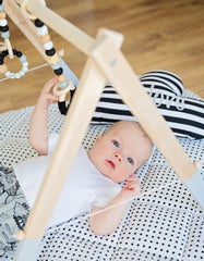 black gym toys for baby
