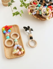 Montessori teething ring