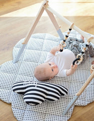 wooden baby activity set
