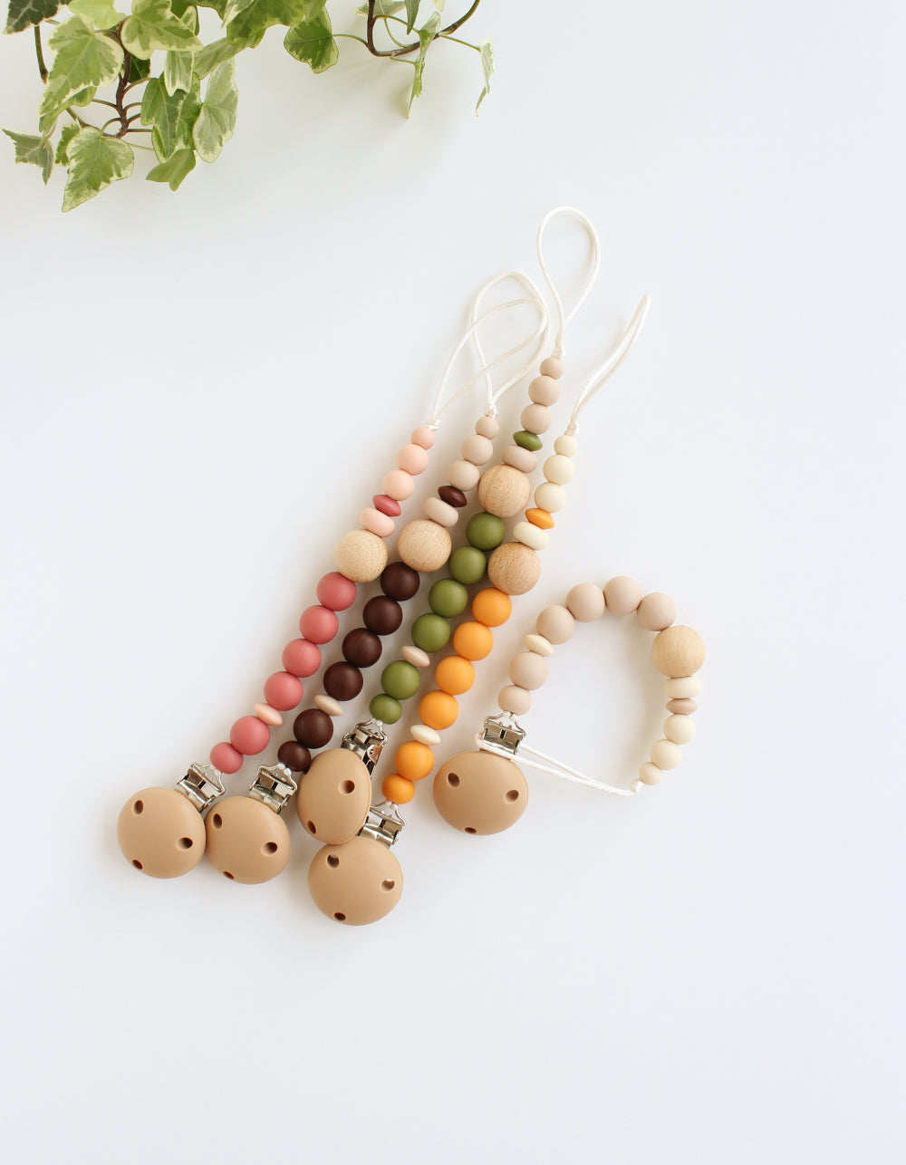 bibs soother pacifier clip