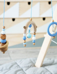 baby gym toys blue