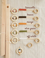 wooden baby gym frame paint color chart