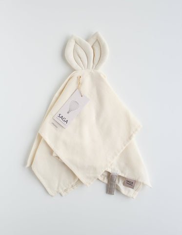 SAGA Copenhagen baby cuddle cloth ivory
