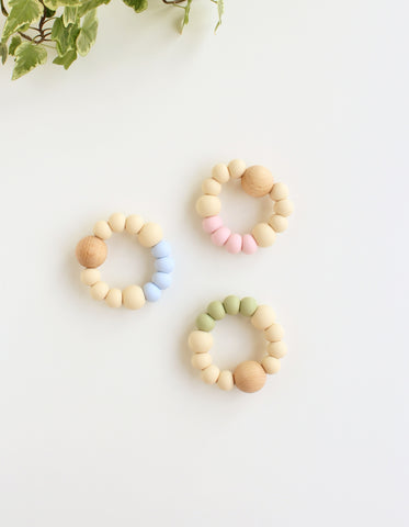 silicone teether for baby