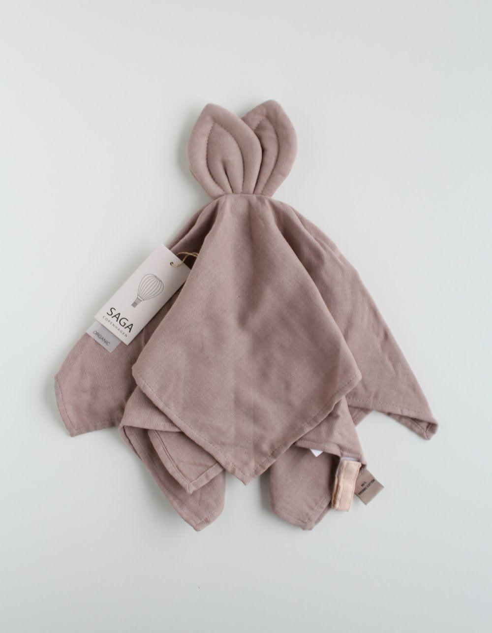 SAGA Copenhagen baby cuddle cloth mauve