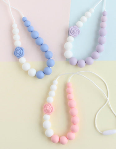 silicone necklace for girls