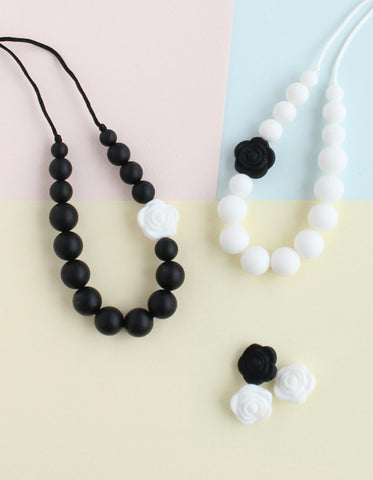classic necklase for girls made from silicone