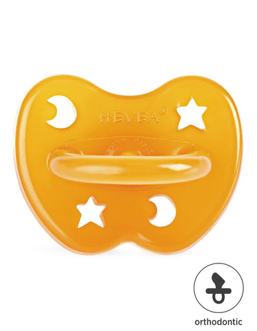 HEVEA natural rubber orthodontic pacifier 0-3 months