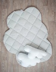 cloud play mat for baby nursery
