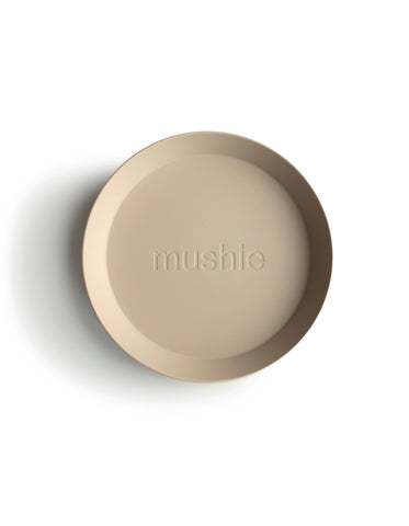 mushie dinnerware for kids