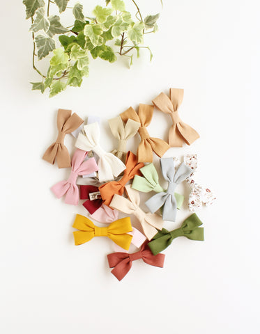 bohemian cotton hair clip for girls