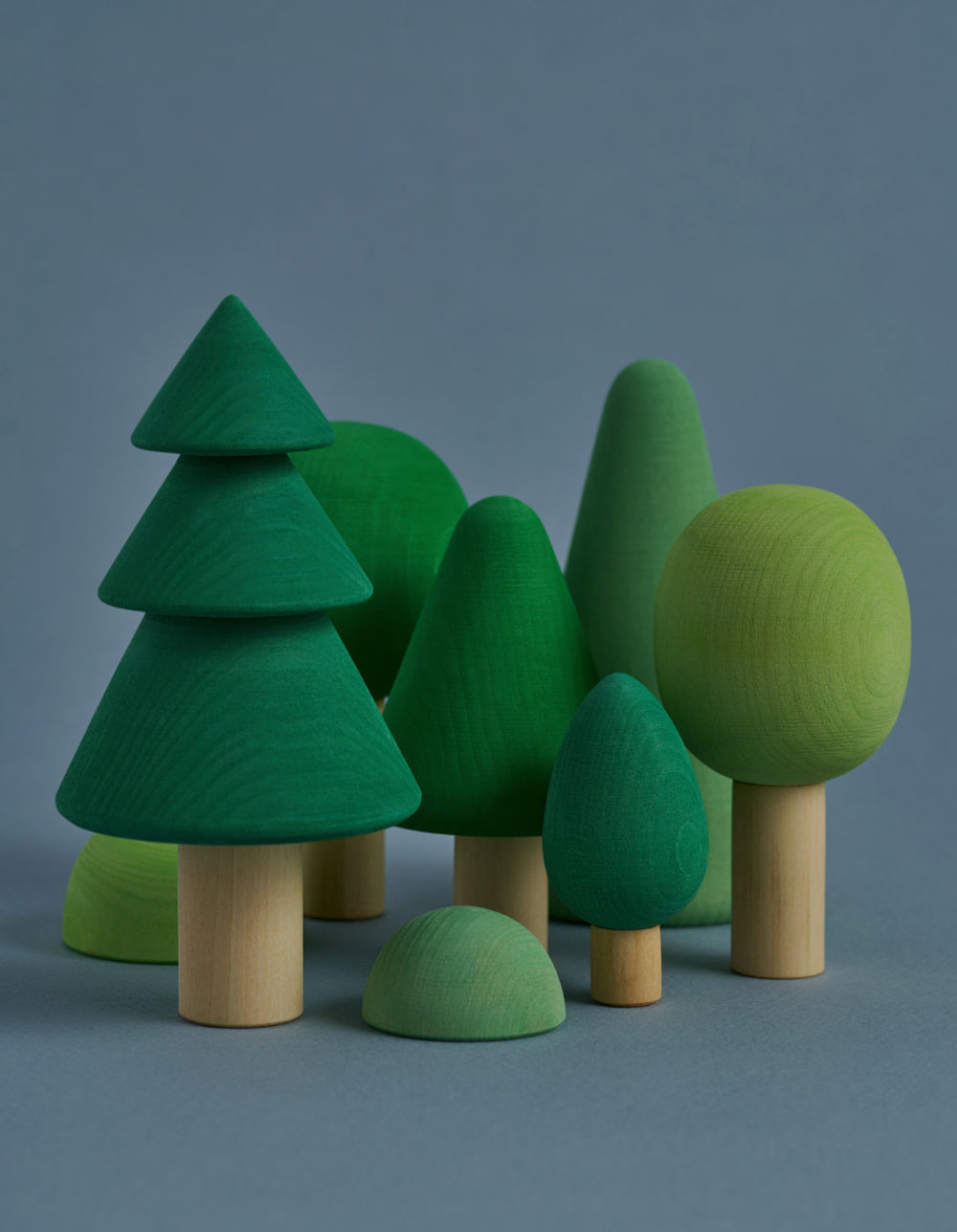 Raduga Grez wooden forest set