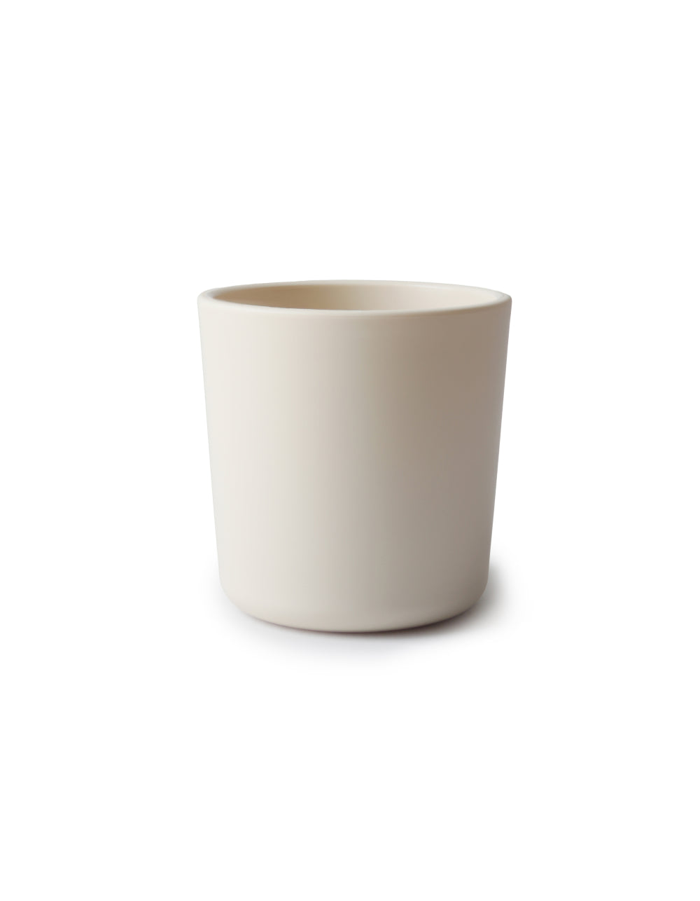 mushie drinking cup ivory