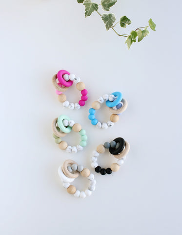 silicone teething toy for baby