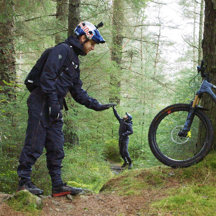 Danny MacAskill and his 5010 test the new Endura MT500 One-Piece