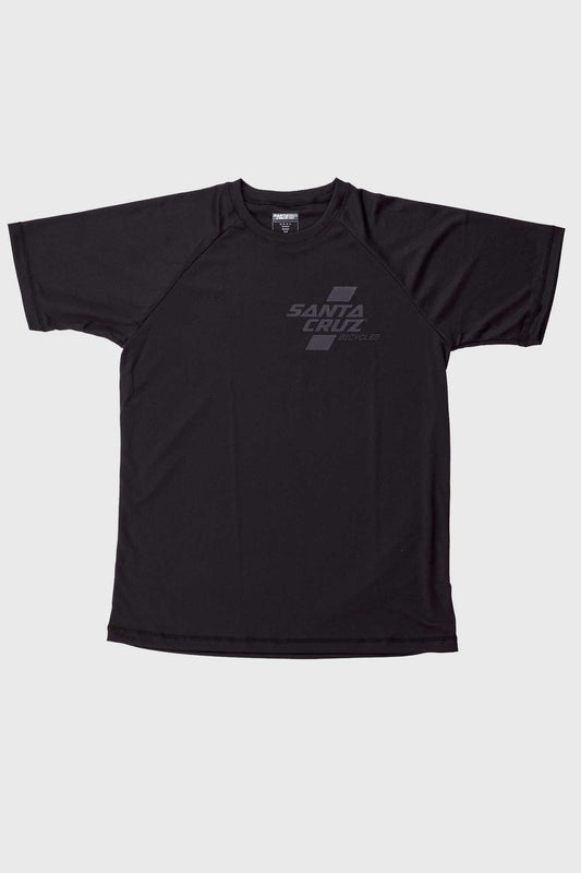 Santa Cruz Parallel Tech Tee SS Jersey - Black
