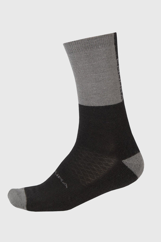 Endura BaaBaa Merino Winter Sock II Black