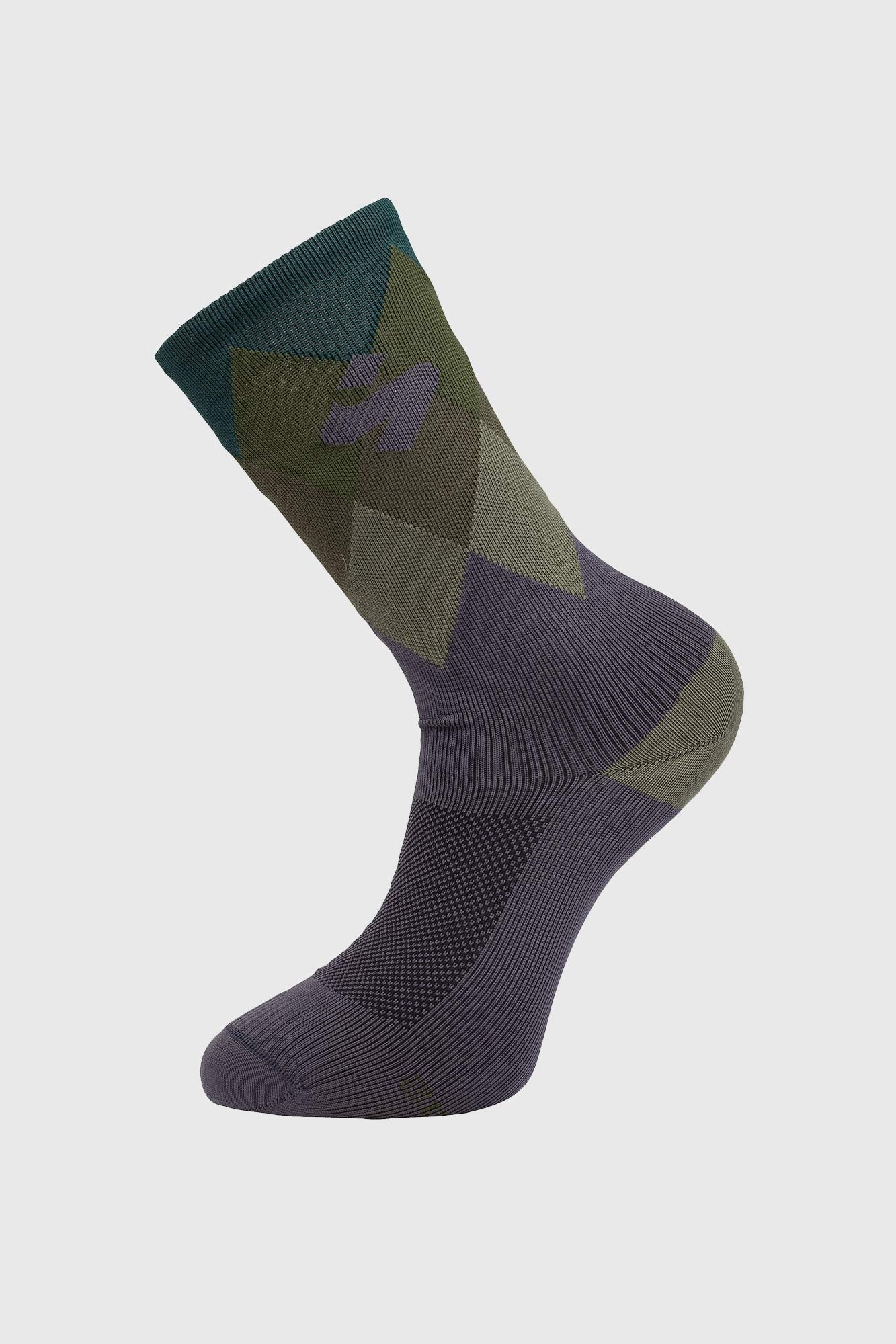 Sweet Protection Crossfire Sock Olive Drab