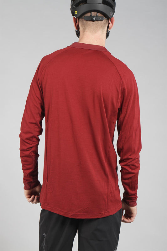 Sweet Protection Hunter Merino Wind Jacket Earth Red