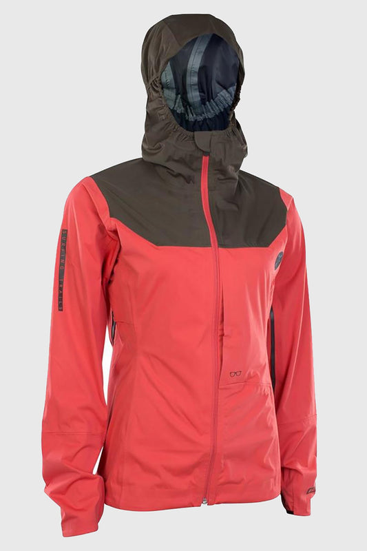 Ion W's Scrub Amp 3 Layer Jacket Pink Is Black