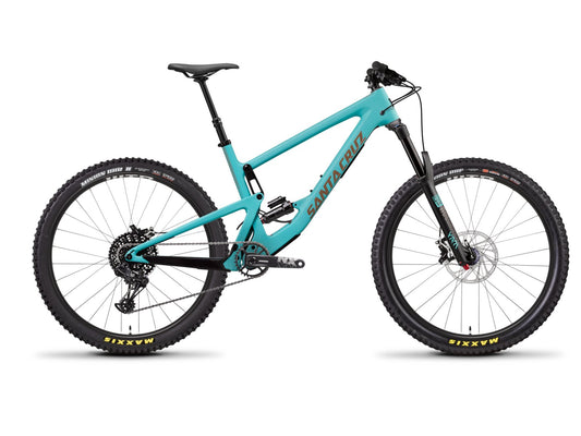 Santa Cruz Bronson Carbon C - R 2.6 Kit - Industry Blue