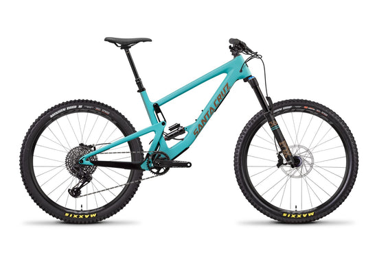 Santa Cruz Bronson Carbon C - S 2.6 Kit - Industry Blue