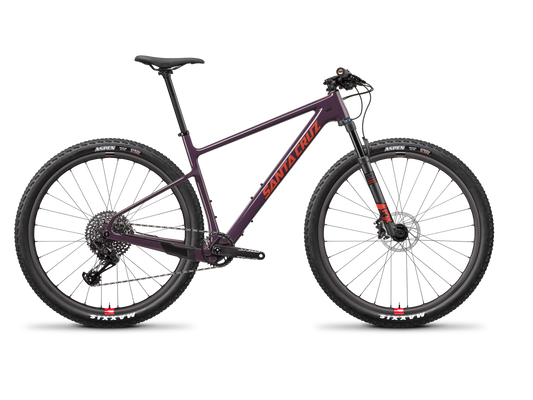 Santa Cruz Highball Carbon C - S Reserve Kit - Eggplant