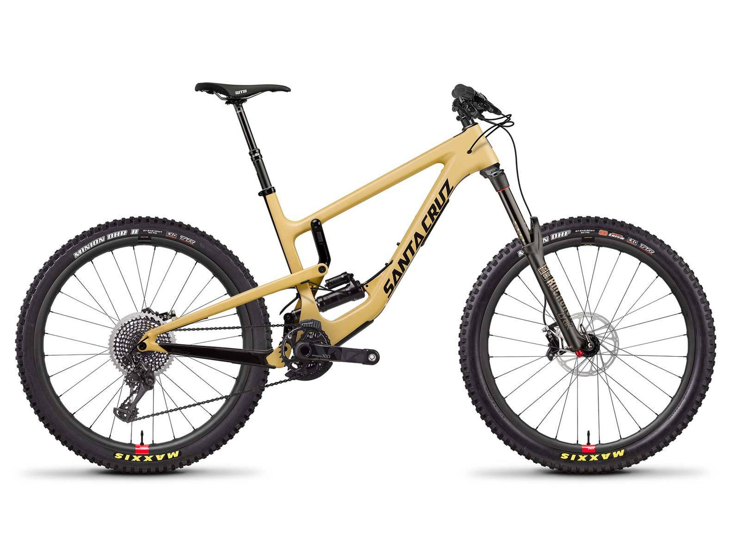 Santa Cruz Nomad Carbon CC XX1 Air Reserve Bike - Tan/Black