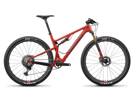 Santa Cruz Blur Carbon CC - XTR Reserve - Gloss Sunset