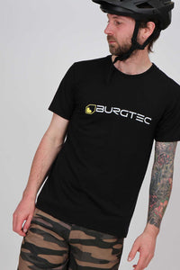 Burgtec Tech Tee Black and White