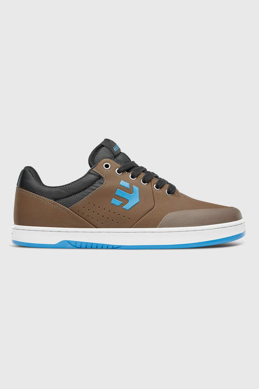 Etnies Marana Crank Shoe - Brown Blue