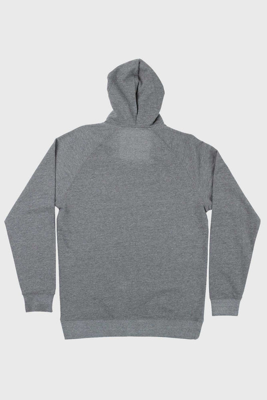 Santa Cruz Patch Zip Hoody - Grey