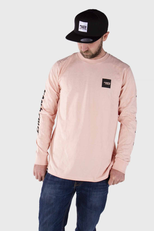 Santa Cruz Square Long Sleeve Tee - Secret Sauce