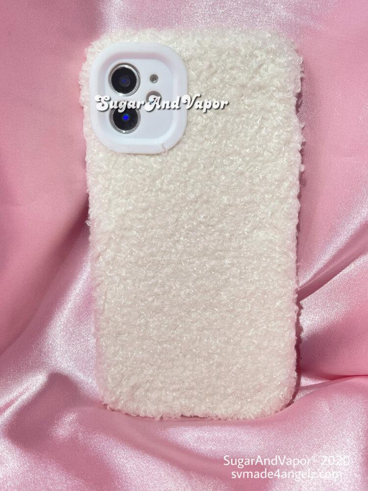 Dolly Warm Wool Touch Fleecy iPhone Case-Phone Case-SugarAndVapor