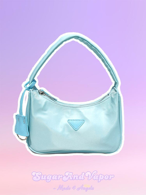 Hanne Ice Cream Vintage Shouler Bag-BAGS-SugarAndVapor