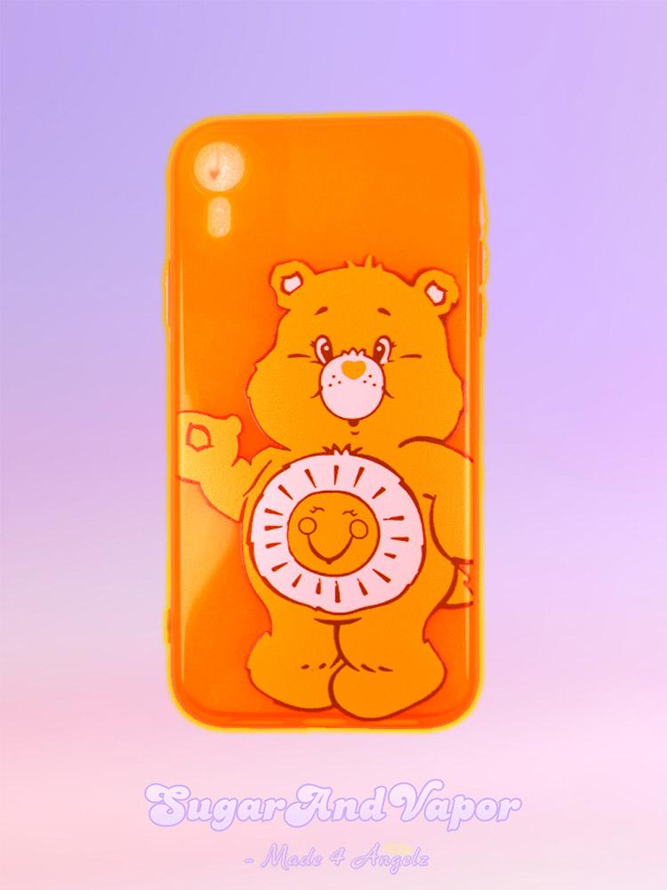 Neon Color Carebears iPhone Case-Phone Case-SugarAndVapor