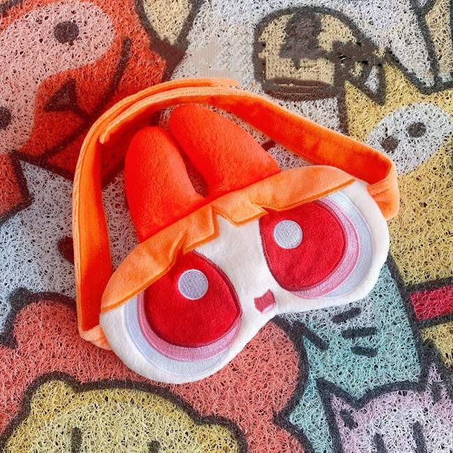 Powerpuff Girls Warm Sleep Eye Mask-Masks-SugarAndVapor