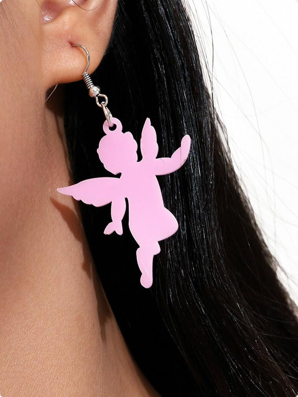 Sent To Heaven Cherubs Angel Earrings-EARRINGS-SugarAndVapor