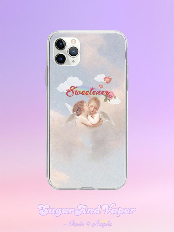 Sweetener Angelic Cute iPhone Case-Phone Case-SugarAndVapor