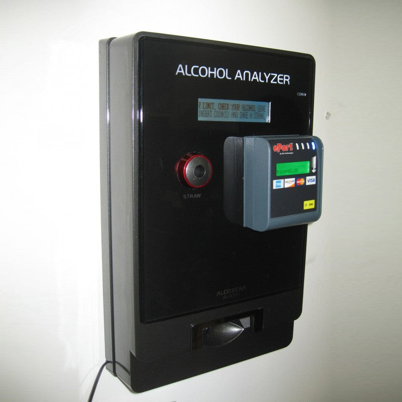 AlcoMate AL4000 Commercial Breathalyzer - AK GlobalTech Corporation