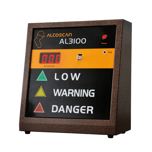 AlcoScan AL3100 Breathalyzer - AK GlobalTech Corporation