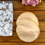 Reusable and Contoured  Breast Pads