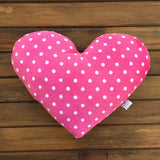 Heart decor pillow