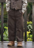 Jackson Loose Fit Boys Suspender Pants